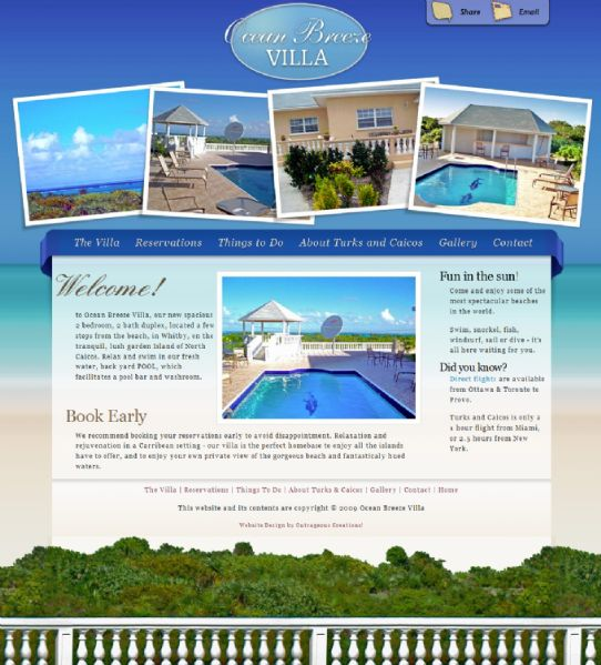 Ocean Breeze Villa